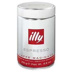 Illy Espresso 0,25kg (tin, malda bönor)