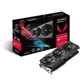 Asus Radeon RX Vega 56 Strix Gaming OC 2xHDMI 2xDP 8GB