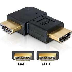 DeLock HDMI - HDMI  M-M Adapter 90° Right