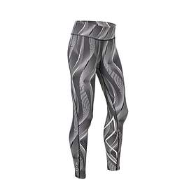 2XU Mid-Rise Print Compression Tights (Dame)