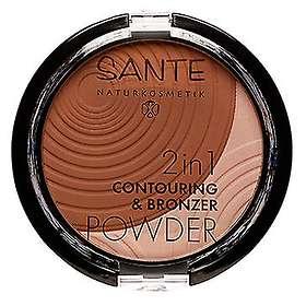 Sante 2in1 Contouring & Bronzer Powder