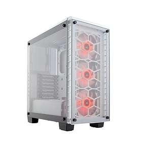 Corsair Crystal 460X RGB (Vit/Transparent)