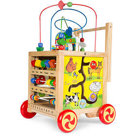 Woodlii Learn-Go-Trolley Multi