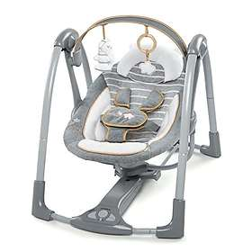 Ingenuity Bright Starts Balancelle Comfort 2 Go Portable Swing