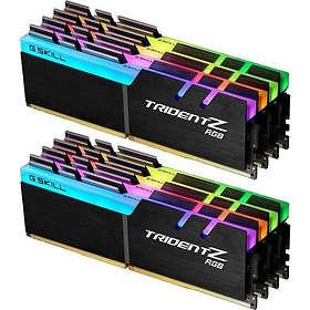G.Skill Trident Z RGB LED DDR4 2933MHz 8x8GB (F4-2933C16Q2-64GTZRX)