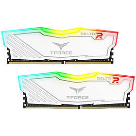 Team Group Delta White RGB LED DDR4 3000MHz 2x8GB (TF4D416G3000HC16CDC01)
