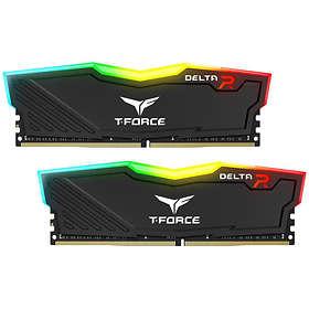 Team Group Delta RGB Black DDR4 3000MHz 2x8GB (TF3D416G3000HC16CDC01)