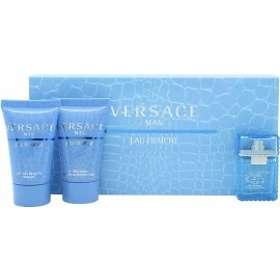Versace Man Eau Fraiche edt 5ml + SG 25ml + AS Balm 25ml for Men