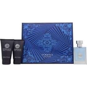 Versace Pour Homme edt 50ml + SG 50ml + Shampoo 50ml for Men