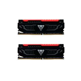 Patriot Viper LED Red DDR4 2400MHz 2x8GB (PVLR416G240C4K)