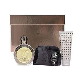 Find the best price on Versace Eros edp 100ml + BL 100ml + Necessär ... 250bacc237f1f
