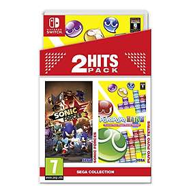 2 Hits Pack: Sonic Forces + Puyo Puyo Tetris (Switch)