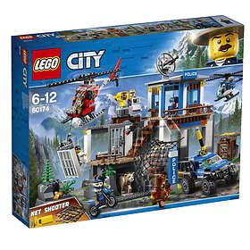 bd376b4f7d0b Find the best price on LEGO City 60174 Mountain Police Headquarters ...