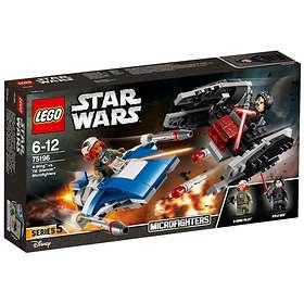 LEGO Star Wars 75196 A-siipinen Hävittäjä vs. TIE Silencer - Mikrohävittäjät