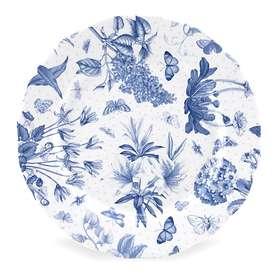 Portmeirion Botanic Blue Tallrik Ø21cm