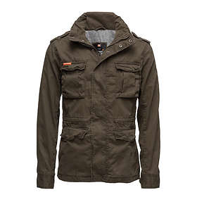 find the best price on superdry classic rookie military jacket