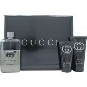 Gucci Guilty edt 90ml + AS Balm 50ml + SG 50ml for Men