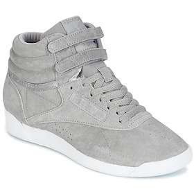 f5fed5ba0bc Find the best price on Reebok Freestyle Hi NBK (Women s)