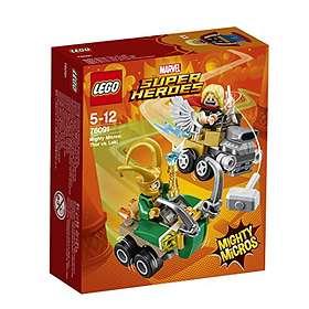 LEGO Marvel Super Heroes 76091 Mäktiga Mikromodeller: Thor mot Loki