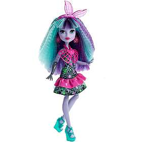 Monster High Electrified Monstrous Hair Ghouls Twyla Doll DVH71