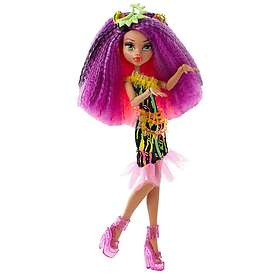 Monster High Electrified Monstrous Hair Ghouls Clawdeen Wolf Doll DVH70