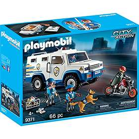 Playmobil City Action 9371 Fourgon Blindé