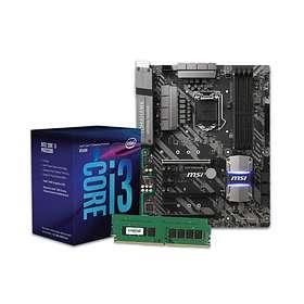 Komplett Uppgraderingspaket - 3,6GHz QC 8GB