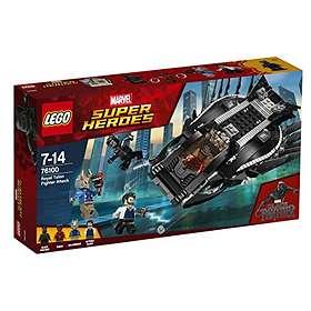 LEGO Marvel Super Heroes 76100 Attack med Kungligt Klojaktplan
