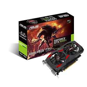 Asus GeForce GTX 1050 Ti Cerberus Advanced HDMI DP 4Go