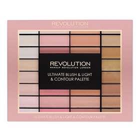 Makeup Revolution Ultimate Blush & Light Contour Palette