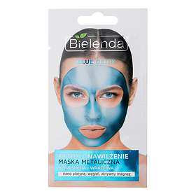Bielenda Blue Detox Detoxifying Metallic Mask Dry/Sensitive Skin 8g