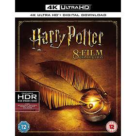 Harry Potter - Complete 8 Film Collection (UHD+BD) (UK)