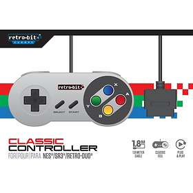 Retro-Bit Classic Wired Controller (SNES)