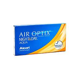 Alcon Air Optix Night & Day Aqua (6-pakning)
