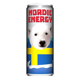 Nordic Energy Drink Burk 0,25l 24-pack