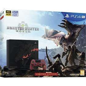 Sony Playstation 4 Pro 1TB (ml. Monster Hunter: World) - Limited Edition