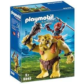 Playmobil Knights 9343 Jättetroll med Dvärgkämpe på Ryggen