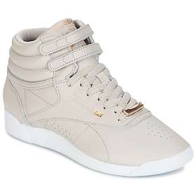 32defd2af0015 Find the best price on Reebok Freestyle Hi Muted (Women s ...