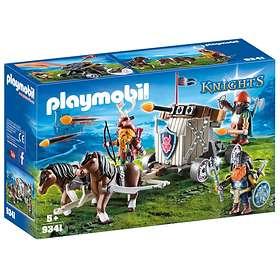 Playmobil Knights 9341 Hästspann med Dvärgar och Ballist