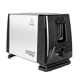 Italian Design Total Steel Toaster 2 Slice