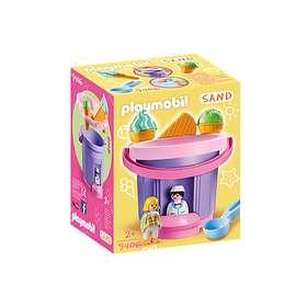 """Playmobil Sand 9406 Strandleksaker """"Glasskiosk"""""""