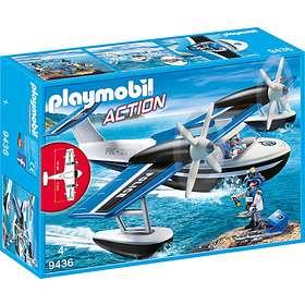 Playmobil Action 9436 Polisflygplan