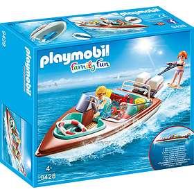 Playmobil Family Fun 9428 Motorbåt med Undervattensmotor