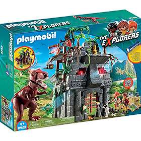 Playmobil The Explorers 9429 Basläger med T-Rex