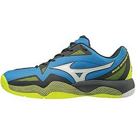 Mizuno Mens Wave Intense Tour 4 All Court Tennis Shoes Black