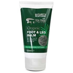 Tea Tree Nature's Response Organic Foot & Leg Balm 150ml