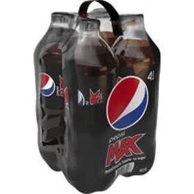 Pepsi Max PET 1,5l 4-pack