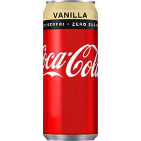 Coca-Cola Vanilla Zero Burk 0,33l 24-pack