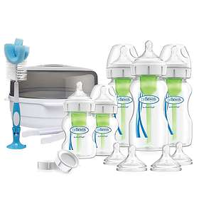 Dr Brown's Microwave Sterilizer Deluxe New Born Gift Set