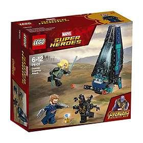 Marvel 76101 Super Heroes Les L'attaque Du Vaisseau Par Lego Outriders zjLSpqMGUV